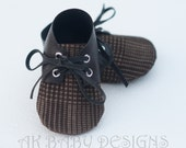 """AK BABY DESIGNS """"Elegant  Baby Boy  Shoes"""" - Little Ron."""