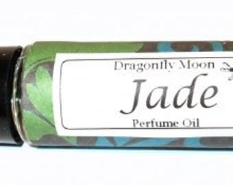 JADE Roll on Perfume Oil - 2 sizes to choose from - 1/3 oz or 1/6 oz - Intoxicating Island Flower