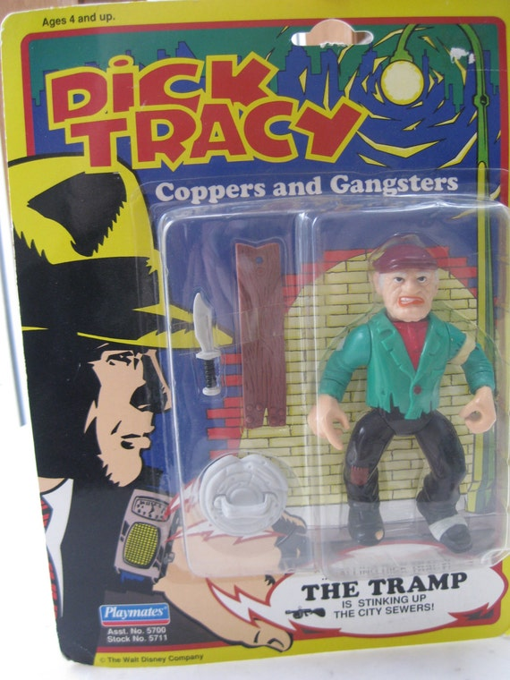 Parent was Dick tracy figure