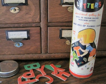 Vintage Lots O' Letters Educational Toy