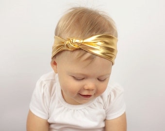 BOHO Collection: Gold Knot Headband
