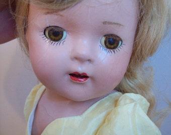 ON SALE Madame Alexander Princess Elizabeth Composition Doll 1930's