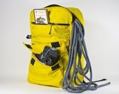 Medium Backpack -- yellow -- made to order.