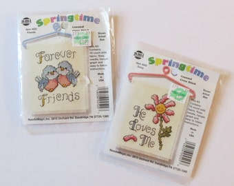 Mini Counted Cross Stitch Samplers Two