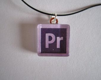Premiere - Glass Tile Necklace - Adobe Design CS6
