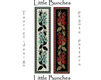 little bunches bracelet peyote pattern