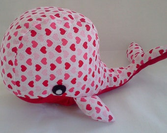 Whalentine the Whale Stuffed Toy