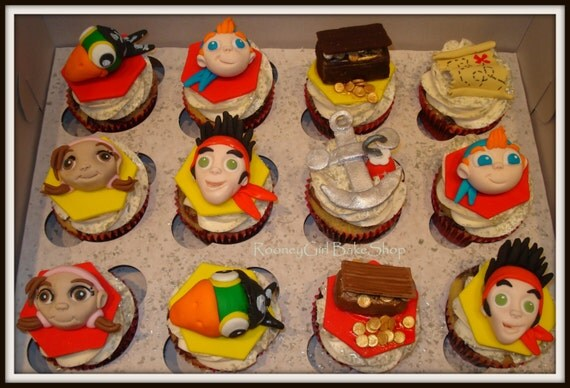 jake and the neverland pirates cupcakes - photo #17