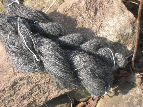 Handspun Yarn Gotland Wool Exellent For Felting And Knitting