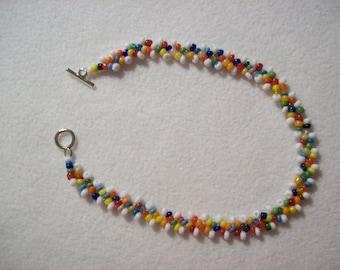 Baroness Multi-Colored Ankle Bracelet