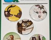 Bambi Book Pinback Buttons