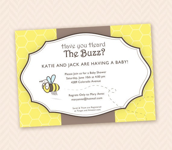 Etsy Baby Shower Invite as amazing invitation ideas