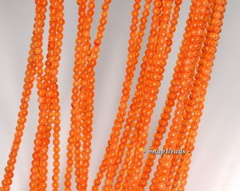 2mm Carnelian Red Agate Gemstone Round 2mm Loose Beads 16 inch Full Strand (90113942-107 - 2mm A)