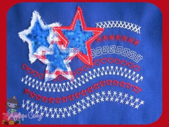 Stitchwork flag Embroidery design