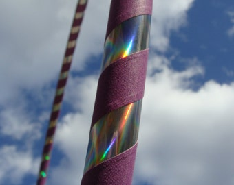 UniCoRn // Rainbow Collapsible Hula Hoop // Custom // Made to Order // Great Gift // Fitness // Exercise // Workout // Dance // Birthday