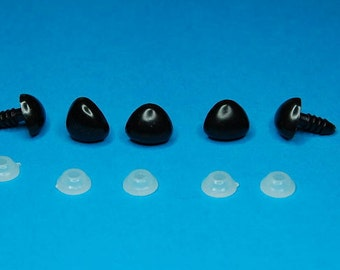 11 mm Triangle Safety Noses - 25 noses