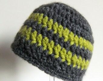 Boy Beanie Hat - Infant Hat - Newborn Winter Hat - Winter beanie - UK Seller - Child Winter Hat - MADE To ORDER