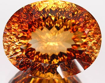 100% natural imperial topaz no drilled 40.11 cts