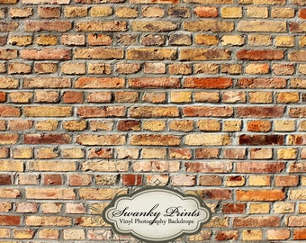 PRODUCT BACKDROP 3ft x 3ft  Vinyl Photography Backdrop for Accessories, product pictures / Light Fire Brick