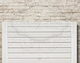 swanky prints original 7ft x 5ft vinyl photography backdrop white wooden headboard brick