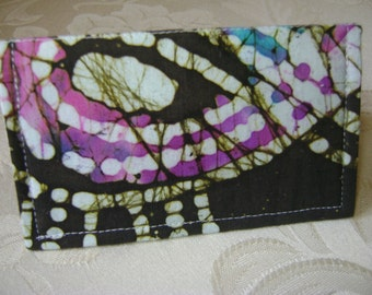 Sprayed Paint Business Card Holder / Gift Card Holder / Mini Wallet Case