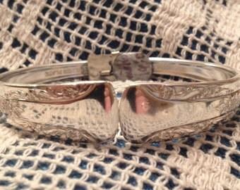 Camelia 1940 Silverware Bracelet