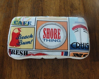 Baby Wipes Case, Travel Wipes Case, Boys Sea Nautical
