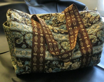 Smaller Quilted Duffle Bag