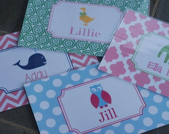Personalized Children's Placemat Design your Own!