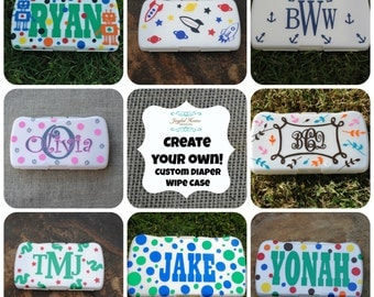 Custom Baby Wipes Case