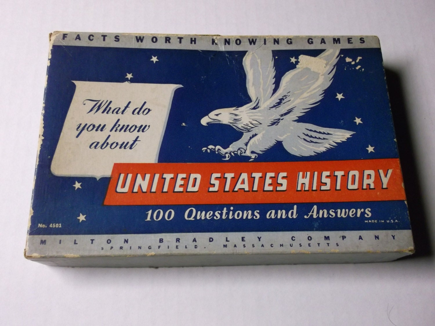 Facts Worth Knowing Games United States History By Bishopbrand
