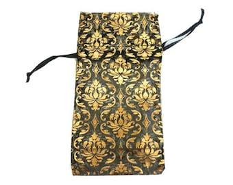12 Jewelry Damask Organza Drawstring Pouch Bags 3X5.75