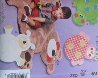 McCalls 6719 --Animal play mats sewing pattern