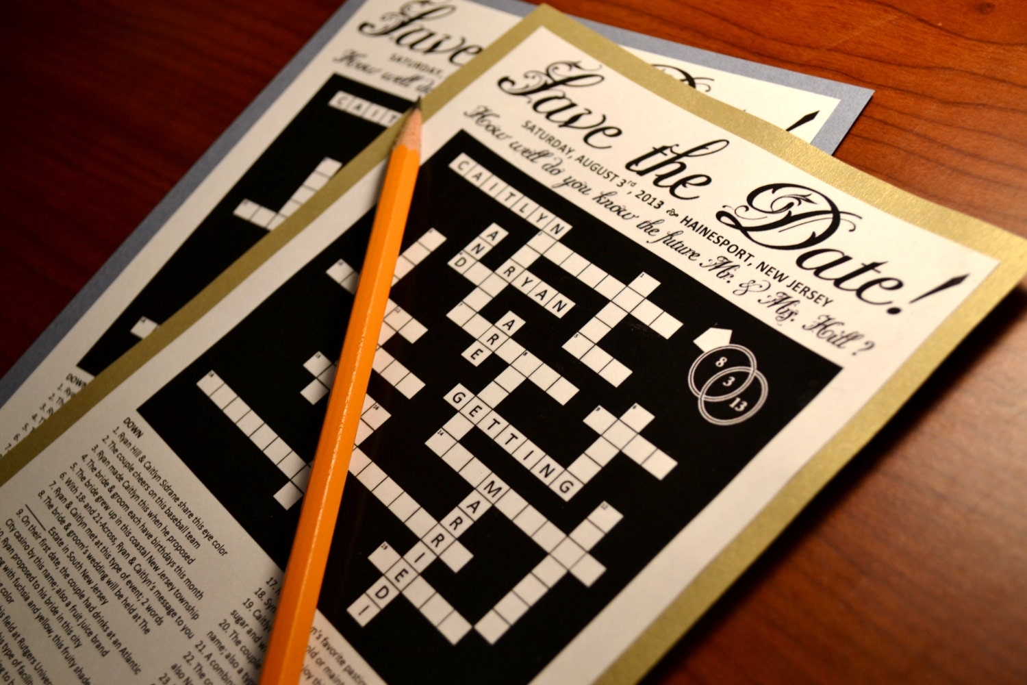 Dating couple crossword clue