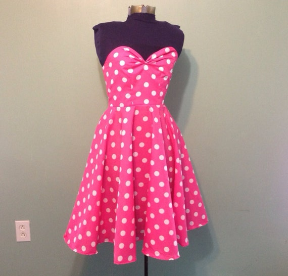 Find Pink polka dot dresses at ShopStyle. Shop the latest collection of Pink polka dot dresses from the most popular stores - all in one place.