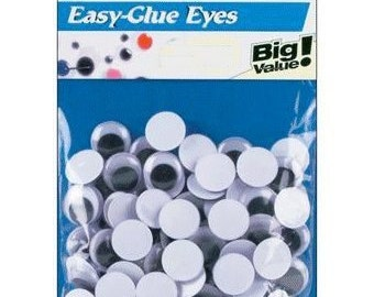 4mm Paste On Wiggly Eyes