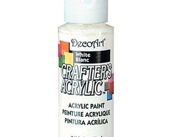 White Acrylic Paint (2oz)