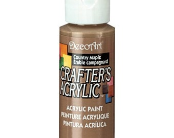 Country Maple Acrylic Paint (2oz)