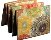 Retro thank you cards, modern thank you notes, blank note card set