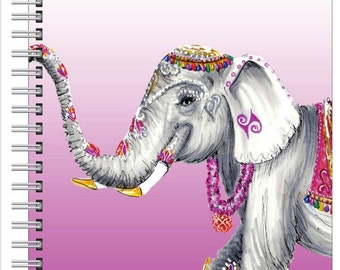 Elephant Love Notebook by Emily Brickel