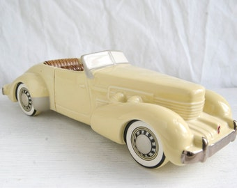 Vintage Avon Collectable Car, Cord 1937 Avon Car, Classic Car, Vintage Avon