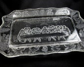Last Supper Clear Glass Tray