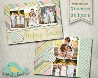 Easter Photography Templates - Easter Card 01