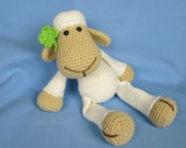 My Friend Sheep / Lamb Lucy - Amigurumi Crochet Pattern / PDF e-Book / Stuffed Animal Tutorial