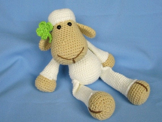 My Friend Sheep / Lamb Lucy - Amigurumi Crochet Pattern / PDF e-Book / Stuffed Animal Tutorial