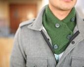 Knitted Scarflette/ Muffler Combo