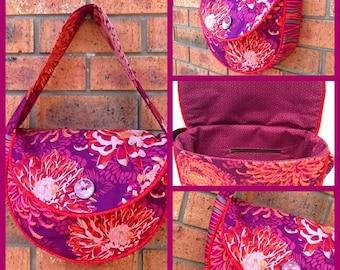 Bag Pattern - Piping Hot Curves Bag  pdf pattern