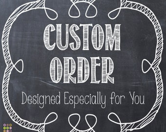 RESERVED ORDER for Bonnie