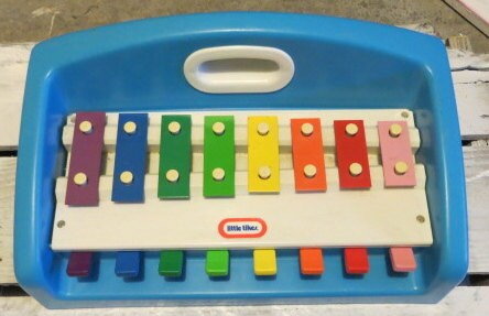 Vintage Toy Little Tikes Xylophone Piano Piano By