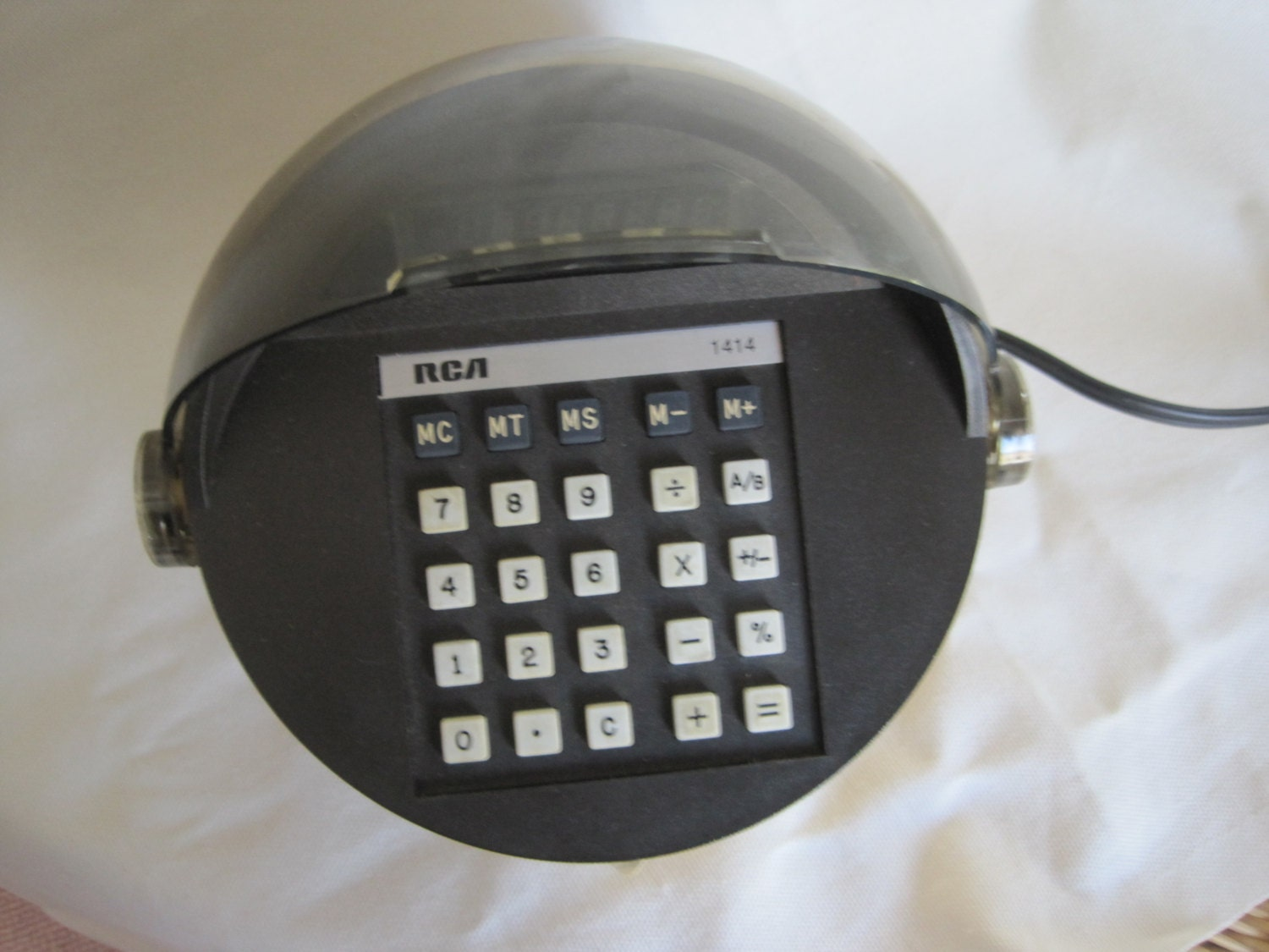 Vintage Rca Model 4c 1414 Atomic Age Space Helmet Calculator